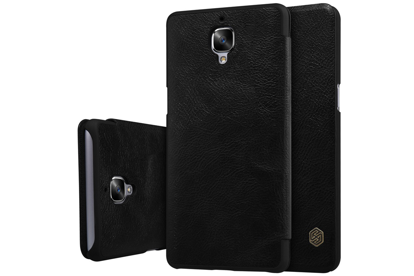 Чехол Nillkin QIN Leather OnePlus 3 черный