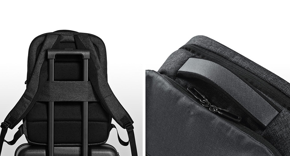 Рюкзак Xiaomi 26L Travel Business Backpack  серого цвета