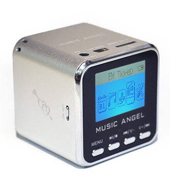 Колонки MP3 Music Angel FM Digital Speaker (JH-MD08)