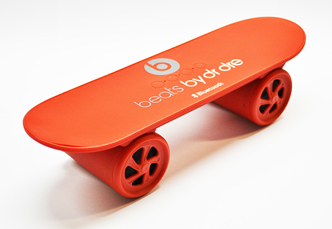 Колонки MP3 Monster Beats Style Scooter Bluetooth Speaker Red (SK-S15R)