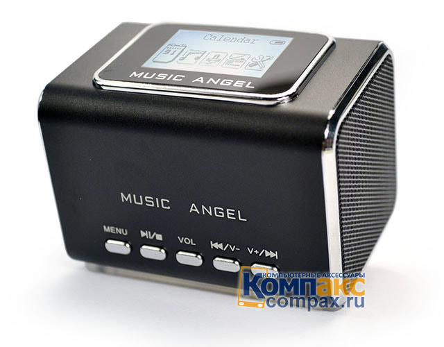Колонки MP3 Music Angel Stereo LCD Mini digital Speaker (JH-MD05X)