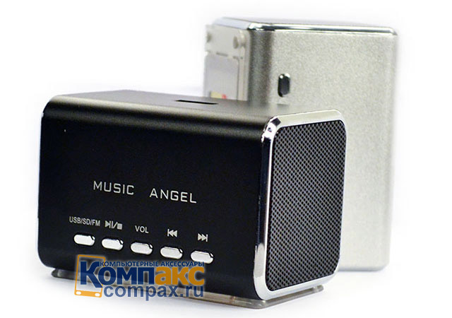 Колонки MP3 Music Angel Stereo FM Mini digital Speaker (JH-MD05B)