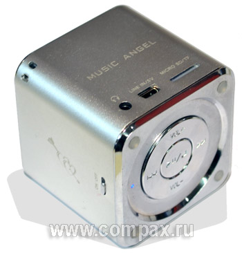 Колонки MP3 Music Angel FM Mini digital Speaker (JH-MD07)