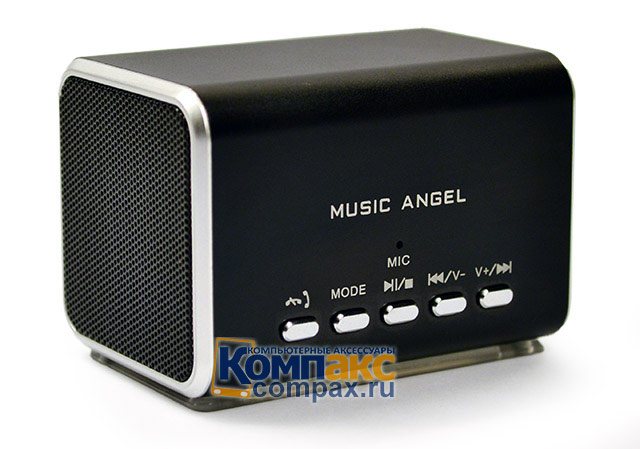 Колонки MP3 Music Angel Stereo Bluetooth Mini digital Speaker (JH-MD05BT)