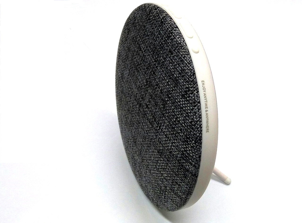 Колонка Remax Fabric Dsktop Bluetooth Speaker серая (RB-M9G)