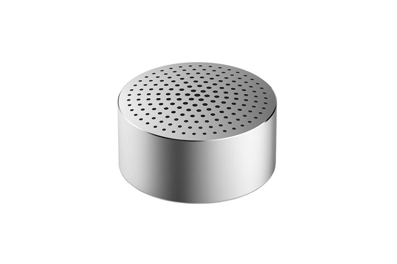 Портативная колонка Xiaomi Mi Portable Round Box Bluetooth Speaker серебристая