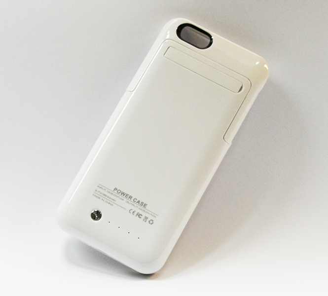 Чехол Аккумулятор CaseGear PowerCase Apple iPhone 6, A1586, A1549 3500 mAh белого цвета