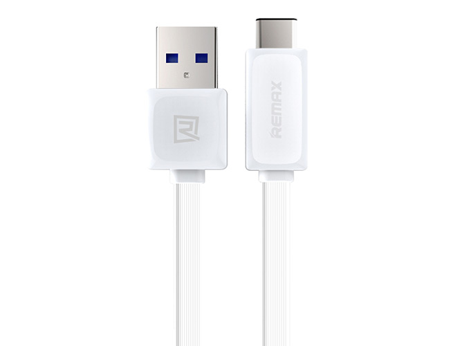 Кабель Remax Fast Cable USB Type-C белого цвета
